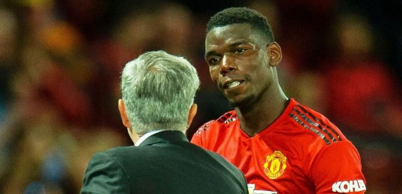 What Jose Mourinho told Paul Pogba during stunning bust-up