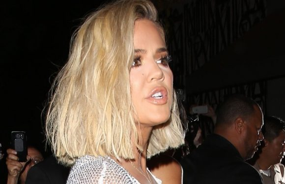 Furious Khloe Kardashian escorted inside after arriving at Kylie Jenner's party
