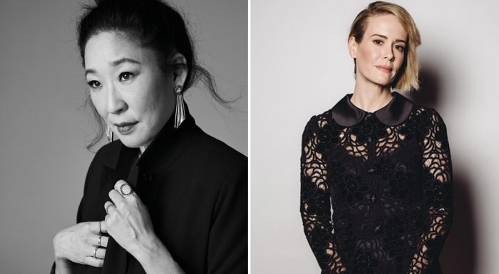 Sarah Paulson and Sandra Oh Talk 'Forward Motion' but 'Long Way to Go' for Female Roles