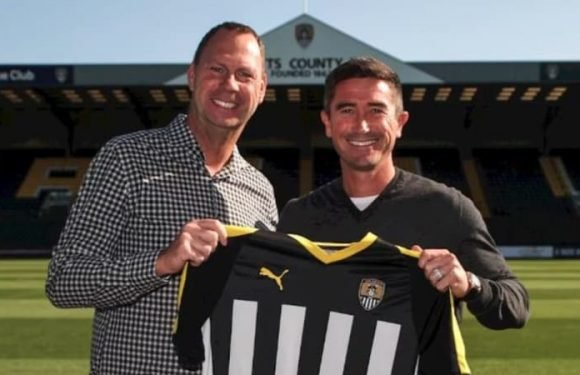 Only way is up: Harry Kewell joins last-placed Notts County as coach