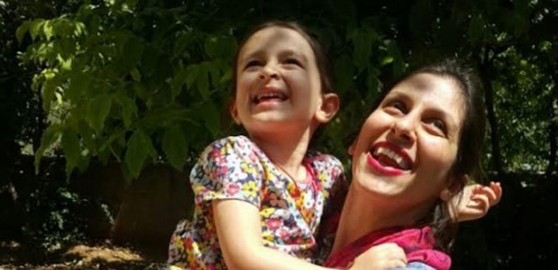 British mum jailed in Iran 'rushed to hospital after fainting in prison'