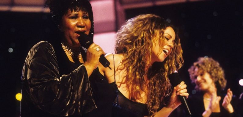 """Mariah Carey's Tribute to Her """"Inspiration, Mentor, and Friend"""" Aretha Franklin Just Made Me Cry"""