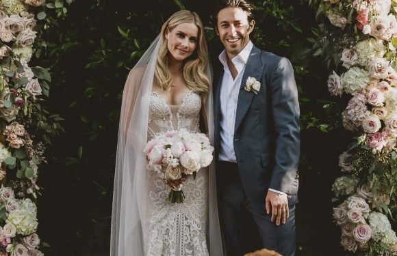 The Originals Star Claire Holt Marries Andrew Joblon — and Their Dog Is a Wedding Guest!