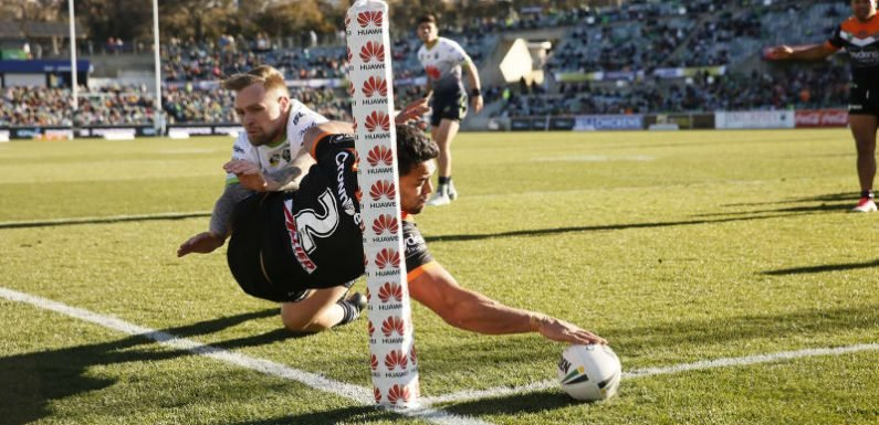 Cleary brushes off contract talk as Tigers down Raiders