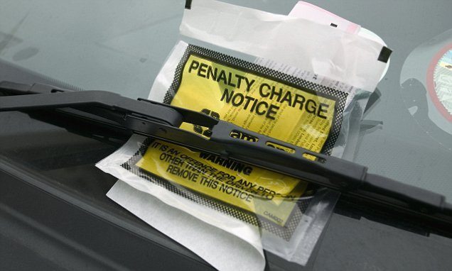 Private parking firms are handing out a record 6.5MILLION fines