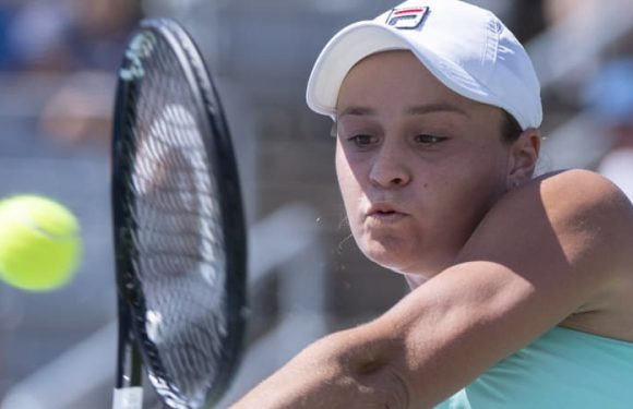 Barty out of sick bed, set to lead US Open charge