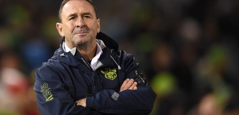 'Unacceptable': Raiders coach Ricky Stuart opens up about finals miss