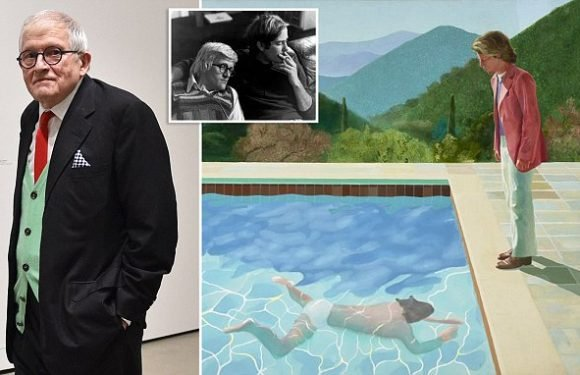 Hockney will become most valuable living artist if £62million painting