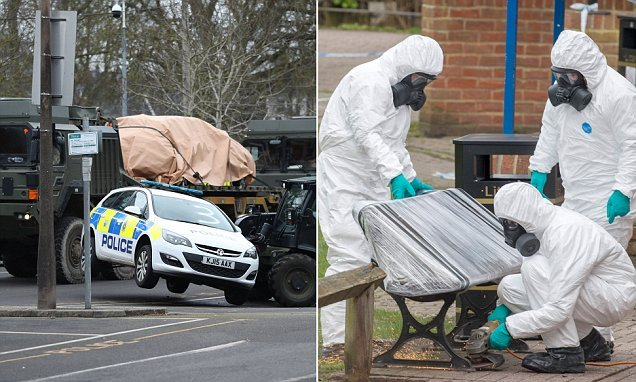Police destroyed £350,000 of vehicles in Novichok contamination fears