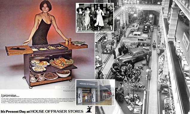 How House of Fraser went from a drapery shop on to a household name