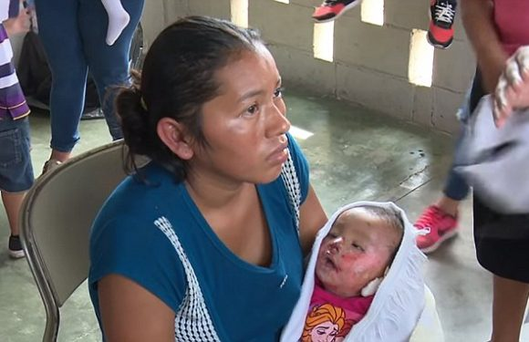 Honduras mother discovers her baby is still alive at the funeral