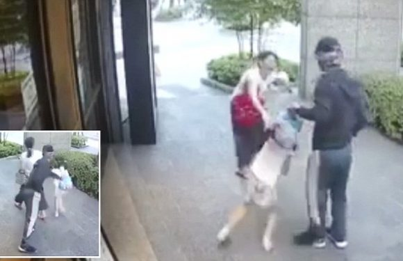 Taiwan mother fights off stranger who tries to snatch her daughter, 7