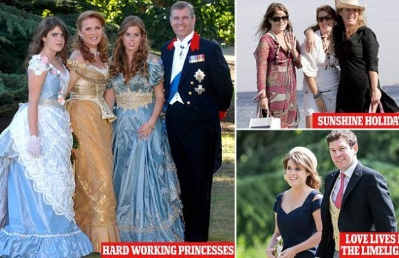 Beatrice and Eugenie lament juggling a job and royal engagements