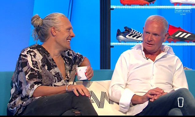 Gascoigne's appearance on Soccer AM cut short due to ill health