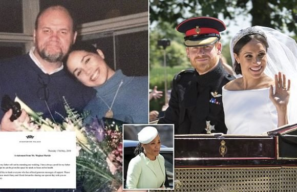 Thomas Markle's call: 'I told Harry it would be better if I was dead'