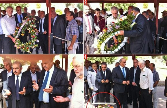 Pictures of Jeremy Corbyn at Palestinian terrorist gravesite explained