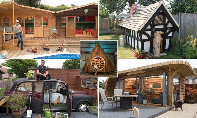 Outstanding outbuildings fight it out to be named Shed Of The Year