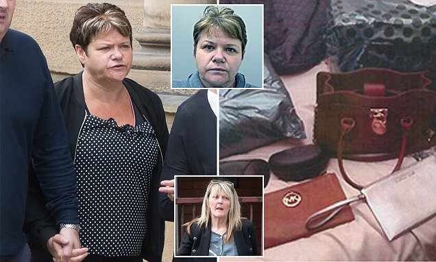 Woman, 50, who stole £800,000 from work is locked up for two years