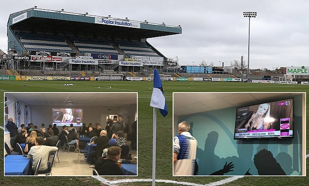 Bristol Rovers launch probe after Babestation aired at half-time