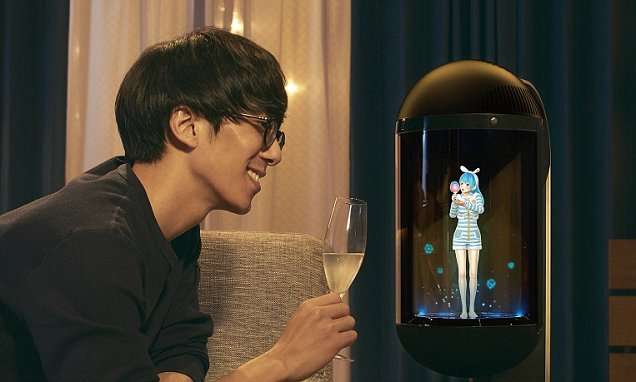 $1300 holographic AI 'wife' will 'serve her master'