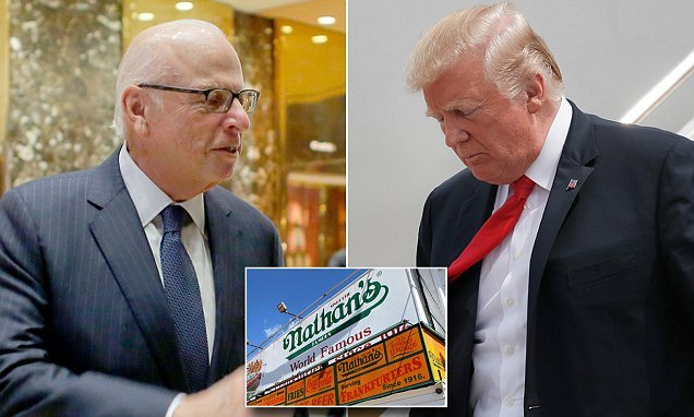 Trump's $3m funder at home of hot dog big who took him to Moscow