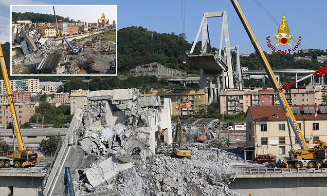 Genoa bridge collapse death toll is 43 with all missing accounted for