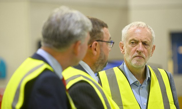 Jeremy Corbyn faces new storm over his undeclared trip to visit Hamas