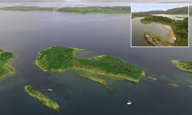 This stunning island could be yours for just £120,000