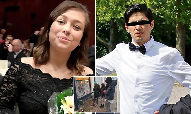 Afghan on trial for killing girlfriend tried to strangle court officer