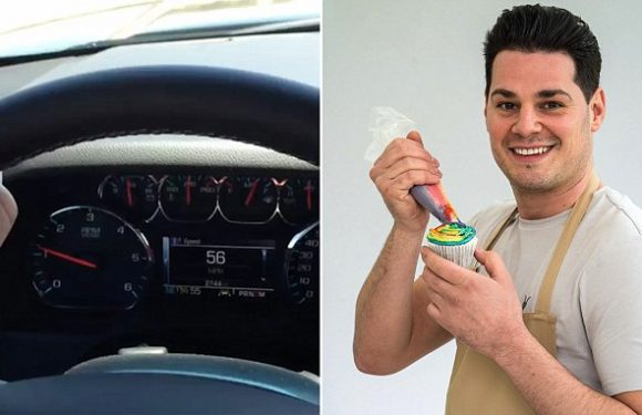 Road safety campaigners slam GBBO star DJ Luke Thompson over video