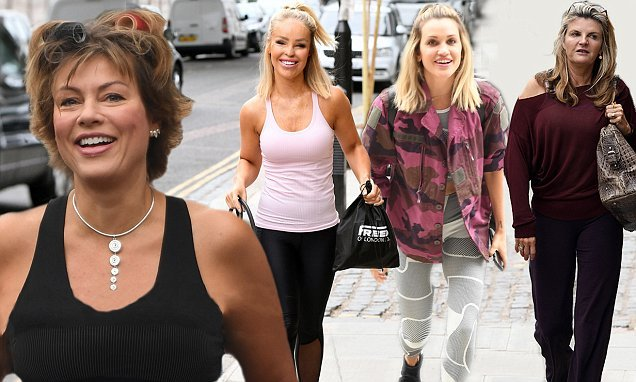 Strictly Come Dancing: Kate Silverton wears rollers at rehearsals