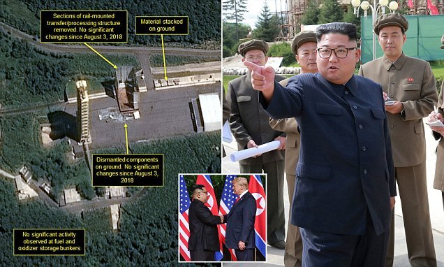 Satellite images show North Korea has stopped nuclear sites demolition