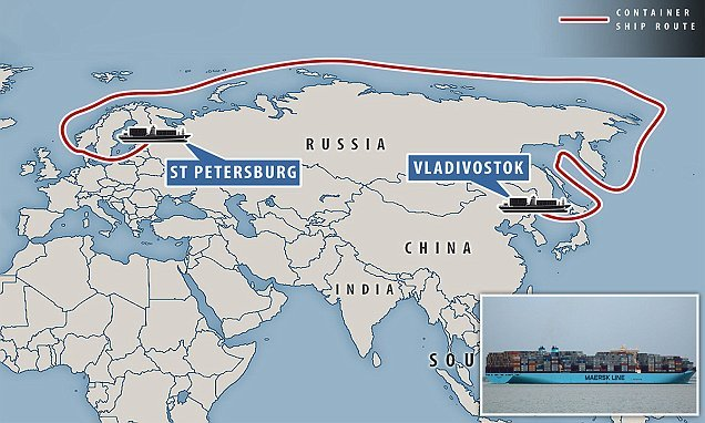 World's biggest shipping firm to test Russian Arctic route
