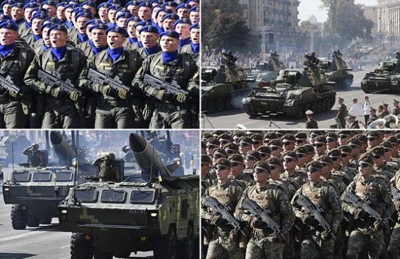 Are you watching Vlad? Ukraine shows off its military might in parade
