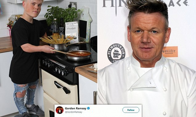 'I'd offer him an apprenticeship any day': celeb chef tweets job offer