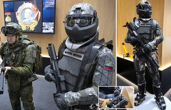 Russia has started to test its 'Robocop' exo-skeleton armour