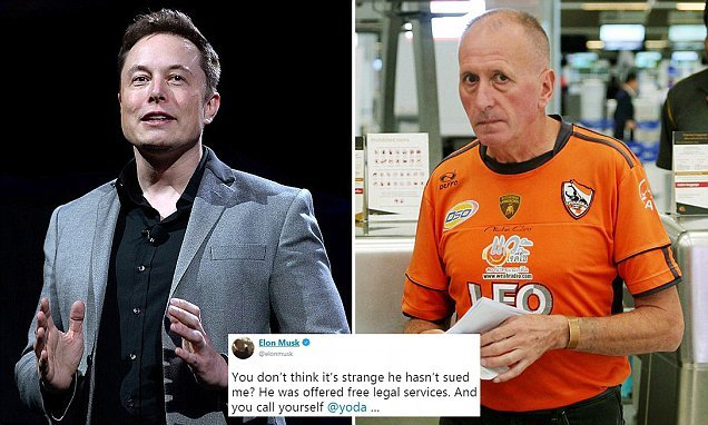 British diver's mother says son taking legal action against Elon Musk