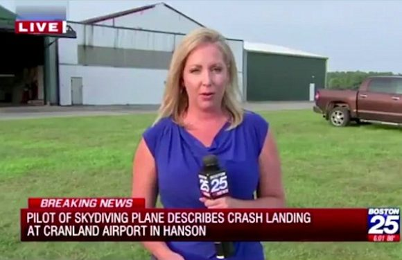 Reporter tricked into saying 'flux capacitator' responsible for crash