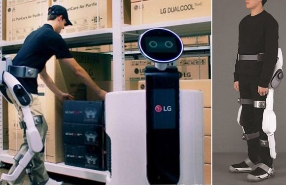 The robot you WEAR: LG unveils its new AI-powered CLOi SuitBot
