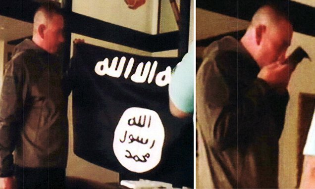 US soldier kissed ISIS flag and supplied group with military secrets
