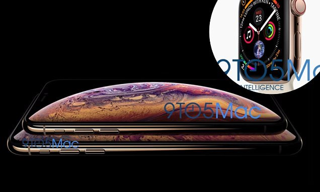 Oops! Leaked images claim to show Apple's new 'iPhone XS' and Watch