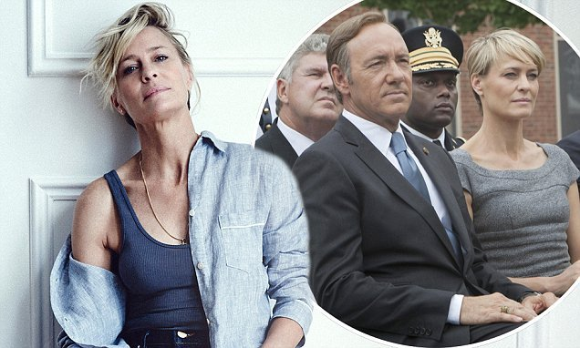 Robin Wright reveals House of Cards was 'very close to being axed'