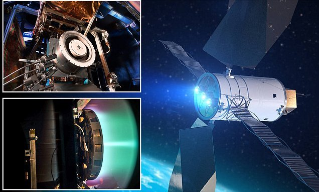 NASA reveals record-setting tests of ion engine
