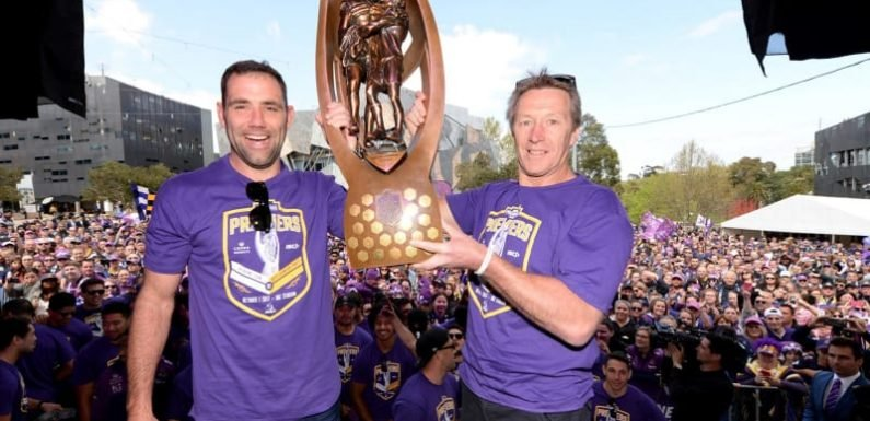 The price of success: NRL teams charged $30,000 to keep premiership trophy