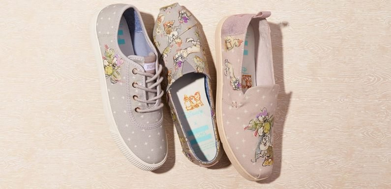 The Disney x TOMS Snow White Collection Will Be The Apple Of Your Eye