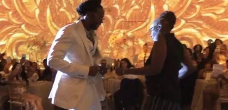 2 Chainz Had a Soulful Mother-Son Dance at His Wedding, and It's Brimming With Joy