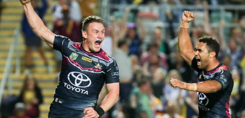 Thurston has the last laugh in final Queensland derby
