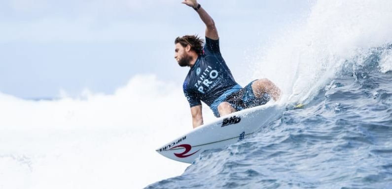 'Frustrated' Wilkinson out of Tahiti Pro