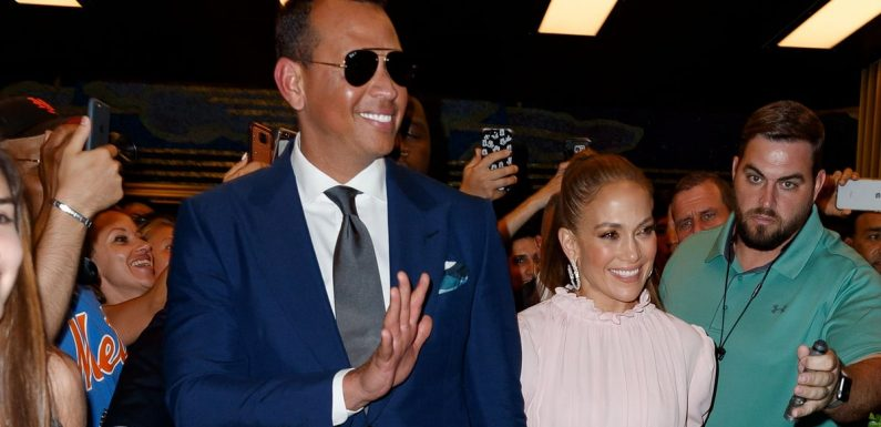 Jennifer Lopez and Alex Rodriguez Flaunt Their Love in NYC Ahead of the VMAs