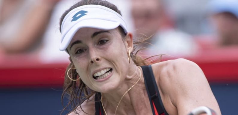Alize Cornet handed violation for changing shirt on court at US Open